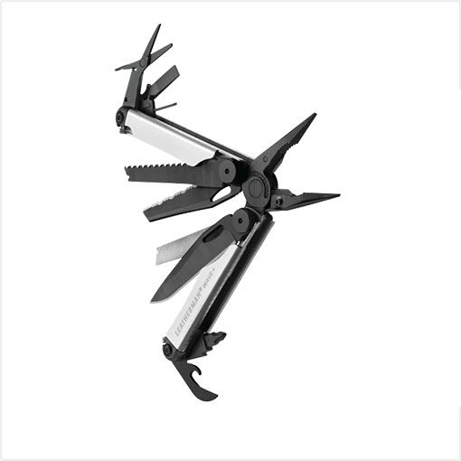 Leatherman Plus Silver Black