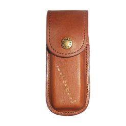 4″ Leather Pouch – Brown