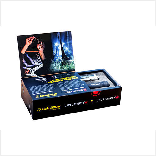 Leatherman - Rebar Multitool & Led Lenser - P7.2 Flashlight Combo