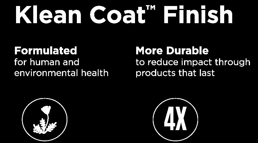 Klean Coat Finish