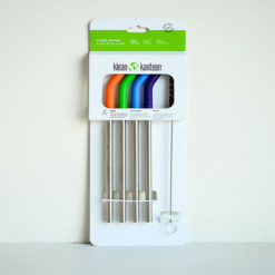 Steel Straws – 4 Pack (for Pints and Tumblers)