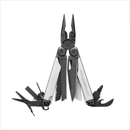 Leatherman Plus Silver Black