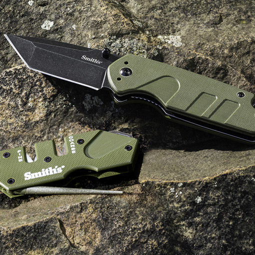 Campaign Knife + PP1 Tactical Mini Combo (OD Green)