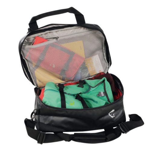 Flight Barrel Bag - Black